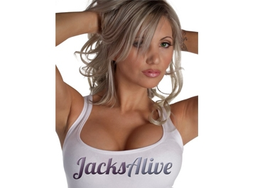 send you a sexy photo with your logo, slogan or website across my chest