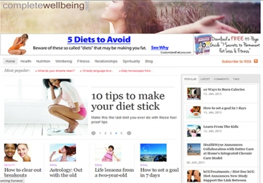 publish your guest post on my Wellbeing, Heath & Lifestyle Site (and give you 2 Backlinks) with 10K plus visitors per month