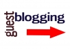 publish your guest post (and give you 2 Backlinks) on my Internet Marketing SEO and Web Design Site with 500 plus visitors per day