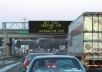 write your message on a motorway neon sign