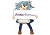 give you a Hi-Resolution Wikipe-tan holding a sign with your logo / website / message
