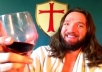 record a short video as Jesus Christ