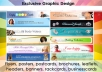design flyers leaflets post cards posters brochure facebook timeline cover ebook covers rack cards headers banners 1 side design up to A4 size