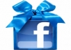 Give You FAST 500+ bonus Facebook Photo/Post Likes within 12 hrs