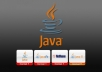 make simple programs in JAVA
